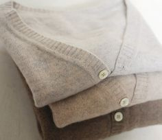 Cashmere Cardigan--In a neutral (flattering) color.   (chicfoo)