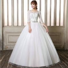 Find More Wedding Dresses Information about Plus Size Sexy Backless Wedding Dress With Lace Half Sleeve 2016 Crystal Sashes Bride Gown Wed Dresses vestido de noiva WD2741,High Quality dresses lemon,China dress coco Suppliers, Cheap dress skirt from DIS Wedding Dresses Co., Ltd. on Aliexpress.com