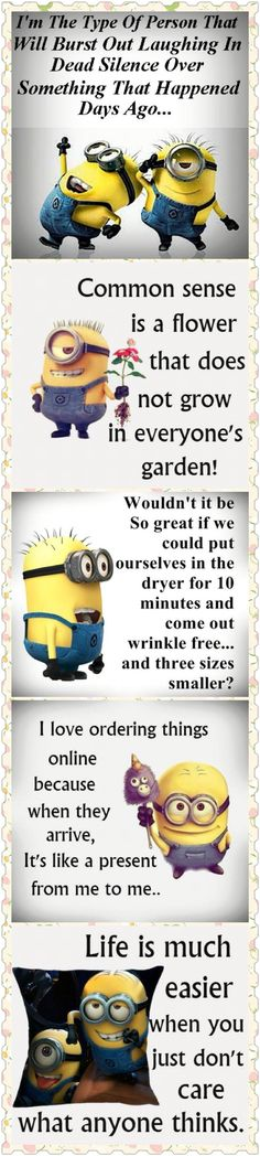 Top 5 Funniest Memes By The Minions… – Funniest, funny minion quotes, Memes… Funny Minion Pictures, Funny Minion Memes, Minions Quotes, Funny Texts, Funniest Memes, Minion Humor, Funny Sarcasm, Epic Texts, Funny Photos