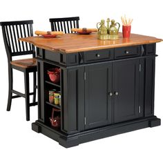 Found it at Joss & Main - 3-Piece Ambrose Kitchen Island Set
