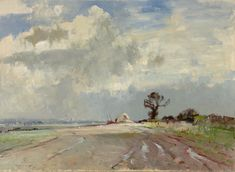 Edward Seago AND Painting - Yahoo Search Results Image Search Results Landscape Illustration, Watercolor Landscape, Abstract Landscape, Watercolor Paintings, Illustration Art, Watercolours, Paintings I Love, Seascape Paintings, Landscape Paintings