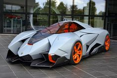 Lamborghini Egoista. Dang this is a true super car.