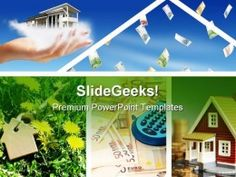 Invest In Real Estate Business PowerPoint Template 0910