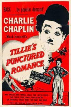 MI ENCICLOPEDIA DE CINE: Posters de Aventuras de Tillie - Tillie's Punctured Romance 1914