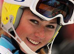 A younger Mikaela Shiffrin (already winning) Mikaela Shiffrin, Ski Racing, Wren, Business Planning, Creative Business, Oakley Sunglasses, Skiing, Athlete, Lady