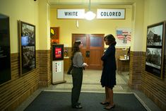 Amazing photo of Michelle Obama with Stephanie Kyriazis, Chief of Interpretation and Education at the Brown v. Board of Education National Historic Site in Topeka.