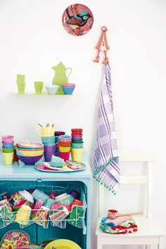 Color you life happy - RICE AW13 Collection.  Makes the dishwasher look fun!