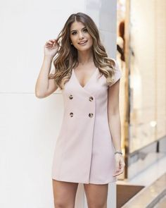 Vestidos Casuales Largos y Midi de Moda Ootd Fashion, Fashion Dresses, Womens Fashion, Casual Dresses, Short Dresses, Summer Dresses, Classy Outfits, Chic Outfits, Trendy Outfits
