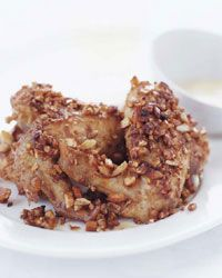 Almond-Crusted Chicken Wings - Chicken Wings from Food & Wine