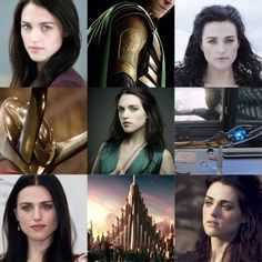Katie McGrath as Loki, goddess of mischief
