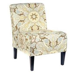 Paddington Palm Slipper Chair | Kirkland's