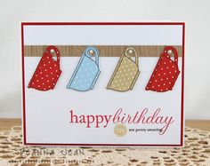 Klosest Kreations Happy Birthday Tea Cups-cute card for Lynda Jones Handmade Birthday Cards, Happy Birthday Cards, Greeting Cards Handmade, Birthday Sentiments, Birthday Wishes, Birthday Cake, Tarjetas Stampin Up, Stampin Up Cards, Coffee Cards