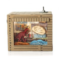 Diorama: Never Use Your Inside Voice Ever Diorama, Never, The Voice, Decorative Boxes, Animals, Home Decor, Animales, Decoration Home, Animaux