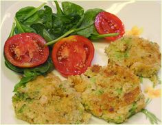 BIZZY BAKES: Broccoli and Quinoa Fritters - WWDH