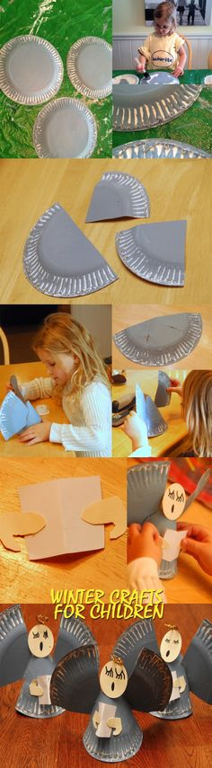 Winter crafts for children. New ideas for crafts for Christmas
