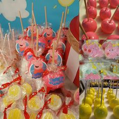 Candy Apples Peppa Pig