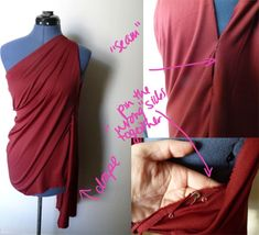 DIY Costume Tutorial: No-Sew Draped Goddess Gown - College Fashion Toga Costume Diy, Diy Toga, Costume Tutorial, Easy Costumes, Costumes For Women, Pirate Costumes, Turtle Costumes, Teen Costumes, Woman Costumes