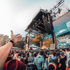 At @outside_lands it's all about the music. @mattjkomo enjoying the festival vibes!  See exclusive content from Golden Gate Park all weekend long by clicking the link in our profile. #OutsideLands #GoProMusic #LiveOutside