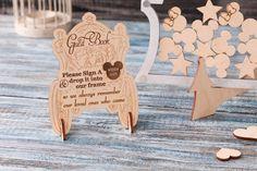 Disney Wedding Guest Book Disney Castle Drop Box D Disney Princess Tattoo, Punk Princess, Disney Gift, Disney Disney, Seashell Wedding, Fairytale Party, Personalized Wedding Guest Book, Disney Posters, Winter Wonderland Wedding