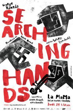 George Konrád: Searching hands / Kutató kezek poster