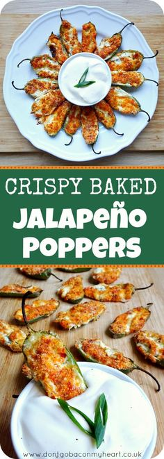 Juicy jalapeño on bottom, with a loaded center oozing out and a parmesan crunch on top. These Crispy Baked Jalapeño Poppers are a must.