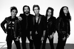 Buckcherry have just announced that they are unleashing their seventh studio album, Rock 'n' Roll, on Aug. 21.