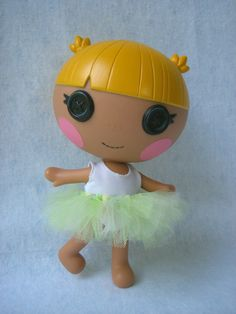 Lalaloopsy Littles Tutu Mint by AndLittleLambsEatIvy on Etsy, $5.00
