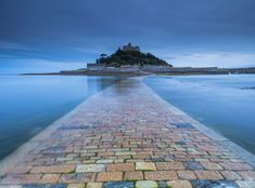 St Michael's Mount: Inspirational Destinations Uk Tourist Attractions, St. Michael, St Michael's Mount, British Memes, Visit Uk, Destinations, Secret Places, Medieval Castle, Most Visited