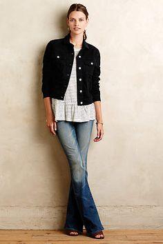 Mother Cruiser Flare Jeans - anthropologie.com
