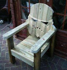 Starwars lawn furniture? Um...yes!!