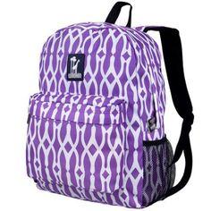 Wishbone Crackerjack Backpack, Purple