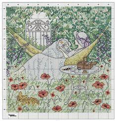 Stitching in the Garden