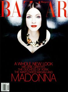 Madonna in February '99 (I have a very vivid memory of reading this issue)