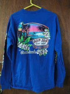Mens Ron Jon Paradise Surf Store Violet Long Sleeve Tee Cocoa Beach L Major surfingaesthetic Surf Store, Surf Accessories, Ron Jon Surf Shop, Cocoa Beach, Surf Outfit, Swimsuit Tops, Go Shopping, Shirt Shop, Women's Leggings
