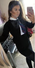 British college girls wearing uniforms with tight skirts: . Prep School Uniform, School Uniform Outfits, Cute School Uniforms, Girls Uniforms, Zendaya Style, Feminized Boys, School Girl Dress, Pantyhose Lovers, Fashion Tights