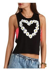 Tribal Print Tops, Graphic Tees & T-Shirts: Charlotte Russe