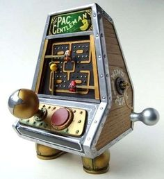 Artist Turns the Classic Arcade Game into a Working Winding Toy #steampunk #victorian trendhunter.com