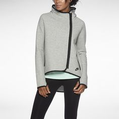 Nike Tech Fleece Cape Women's Hoodie This is so comfortable and I love everything about it...EXCEPT that I can't get the red one yet as they can't keep them in stock! I have the grey one, love love love it, just bought the black one & I'm stalking the Nike website waiting for the red one to get back in stock.