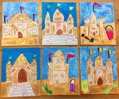 Art with Mr. Summer Art Projects, Summer Crafts For Kids, Art For Kids, Kindergarten Art Lessons, Art Lessons Elementary, Summer Camp Art, Summer School, 2nd Grade Art, Mermaid Art