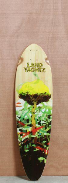 """Landyachtz 36"""" Bamboo Stout Deck"""
