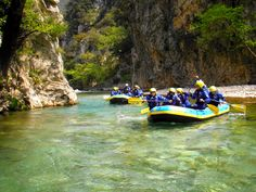 Rafting in Evinos is an unparallel experience for the lovers of nature and all adventure junkies. Chani Bania is a very small, yet picturesque village, located at the wild side of Nafpaktia. Beautiful Places To Visit, Wonderful Places, Whitewater Rafting, Book Of Life, Ancient Greece, Greek Islands, Greece Travel, Outdoor Activities, Sailing