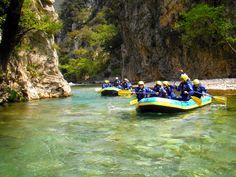 Rafting in Evinos, Nafpaktos, Greece   A Greek Adventure