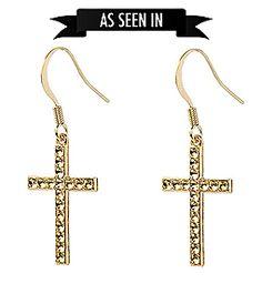 Dear Charlotte cross earrings Cross Earrings, Charlotte, My Style, Jewelry, Boucle D'oreille, Locs, Jewlery, Jewerly, Schmuck
