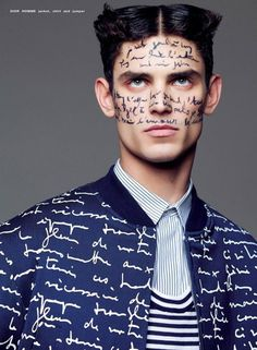 Arthur Gosse for Paper Magazine