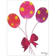 Trademark Art Primrose Balloons Canvas Art by Kathie McCurdy, 18x24, Multicolor