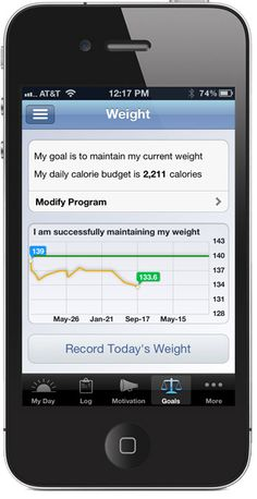 Lose It! - app for iPod/iPhone