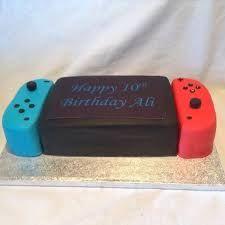 Resultado de imagen para nintendo switch cake