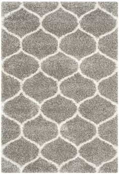 NuLOOM Geometric Moroccan Beads Dark Grey Rug 9 X 12 By Nuloom