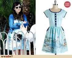 habour a love dress | Zooey Deschanel Fashion: ModCloth's Knitted Dove Harbor a Love dress