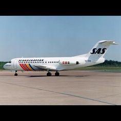 SAS Scandinavian Airlines Fokker